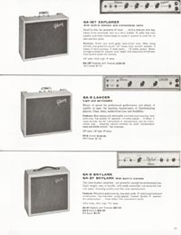 1962 Gibson guitar and bass catalogue page 23