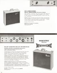 1962 Gibson guitar and bass catalogue page 24