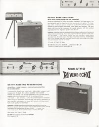 1962 Gibson guitar and bass catalogue page 25