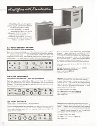 1962 Gibson guitar and bass catalogue page 26