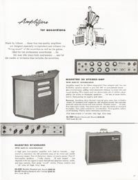 1962 Gibson guitar and bass catalogue page 27