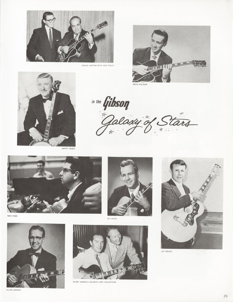 1962 Gibson guitar and bass catalogue - page 29