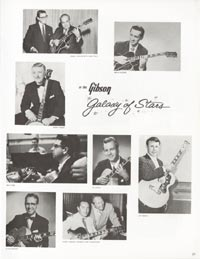 1962 Gibson guitar and bass catalogue page 29