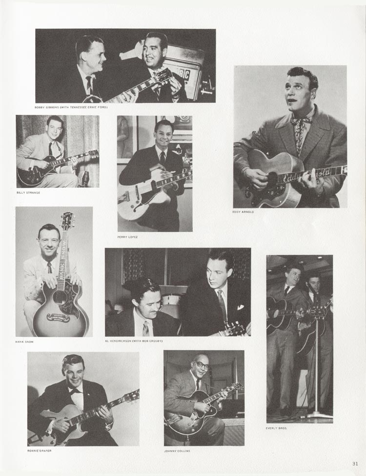 1962 Gibson guitar and bass catalogue - page 31