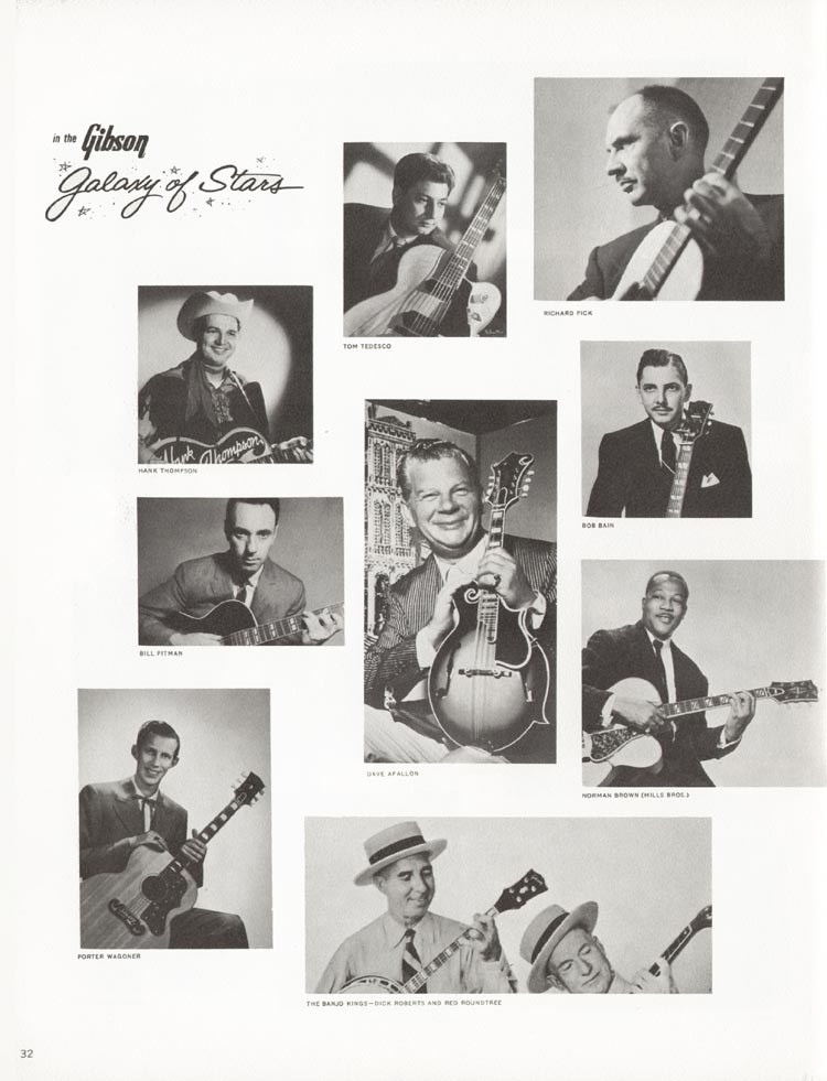 1962 Gibson guitar and bass catalogue - page 32