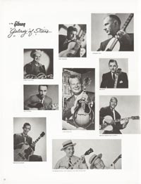 1962 Gibson guitar and bass catalogue page 32
