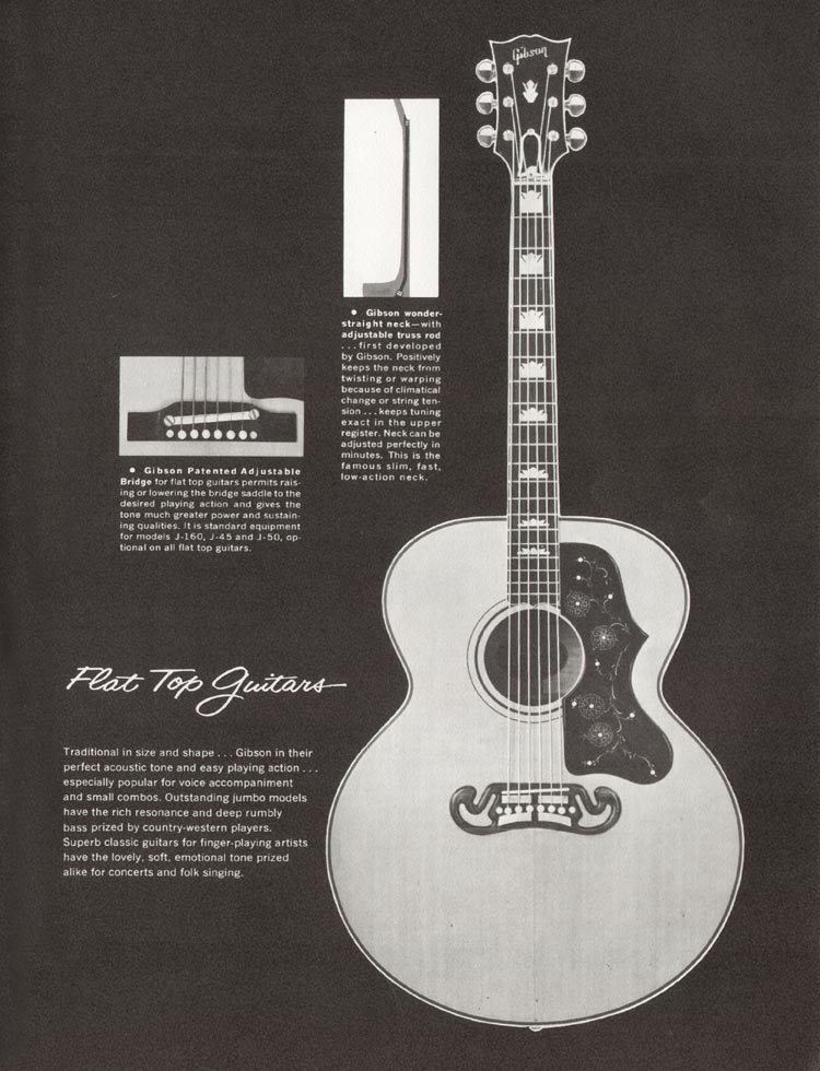 1962 Gibson guitar and bass catalogue - page 33