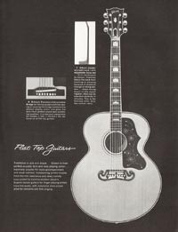 1962 Gibson guitar and bass catalogue page 33