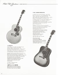 1962 Gibson guitar and bass catalogue page 34