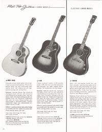 1962 Gibson guitar and bass catalogue page 36