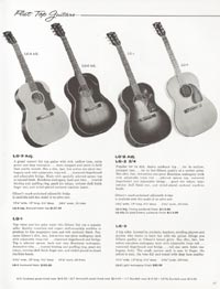 1962 Gibson guitar and bass catalogue page 37