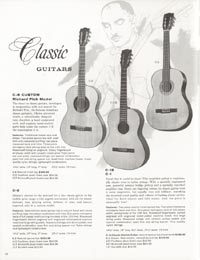 1962 Gibson guitar and bass catalogue page 38