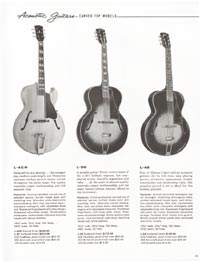 1962 Gibson guitar and bass catalogue page 41