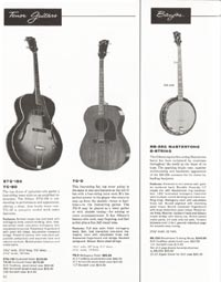 1962 Gibson guitar and bass catalogue page 42