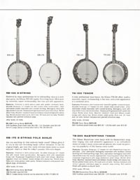 1962 Gibson guitar and bass catalogue page 43