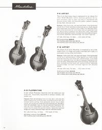 1962 Gibson guitar and bass catalogue page 44
