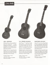1962 Gibson guitar and bass catalogue page 46