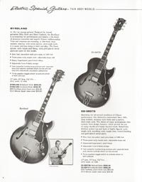 1962 Gibson guitar and bass catalogue - page 6