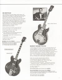 1962 Gibson guitar and bass catalogue - page 7