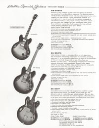 1962 Gibson guitar and bass catalogue - page 8