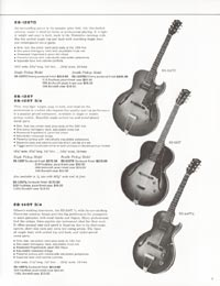 1962 Gibson guitar and bass catalogue - page 9