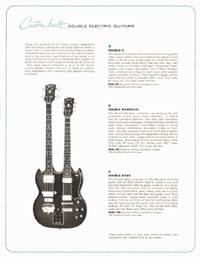 1964 Gibson guitar and bass catalogue page 15