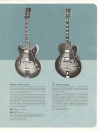 1964 Gibson guitar and bass catalogue page 3