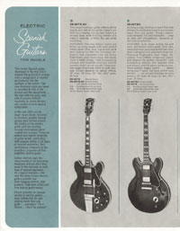 1964 Gibson guitar and bass catalogue page 6