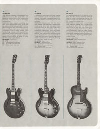 1964 Gibson guitar and bass catalogue page 7