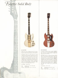 1966 Gibson Full Line catalogue page 10