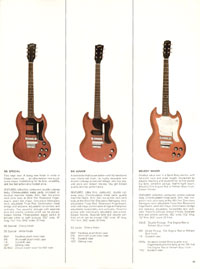 1966 Gibson Full Line catalogue page 11