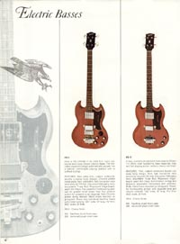 1966 Gibson Full Line catalogue page 14