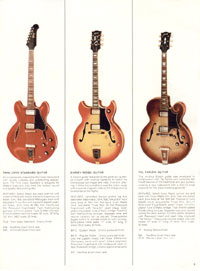 1966 Gibson Full Line catalogue page 3