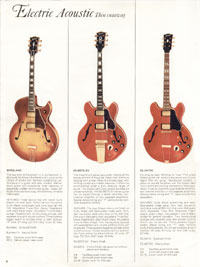 1966 Gibson Full Line catalogue page 6