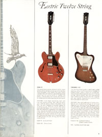 1966 Gibson Full Line catalogue page 9