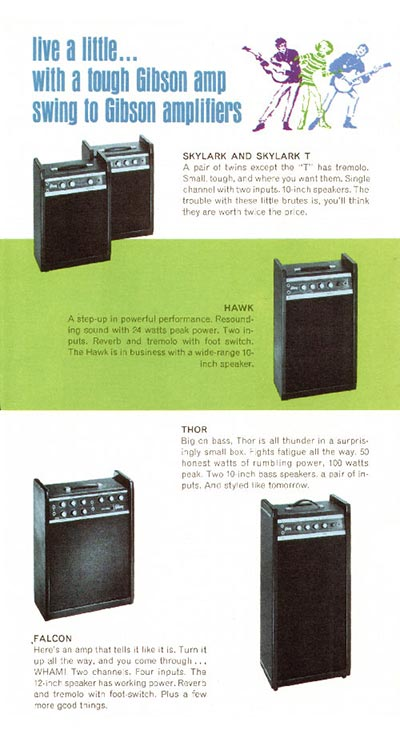 1968 Gibson guitar pamphlet page 4