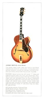 1970 Gibson Electric Acoustics catalogue page 3