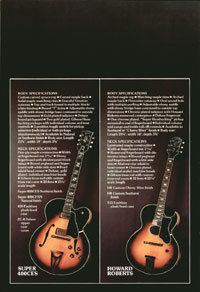 1975 Gibson Electric Acoustics catalogue page 10