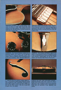 1975 Gibson Electric Acoustics catalogue page 3