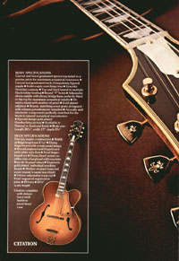 1975 Gibson Electric Acoustics catalogue page 4