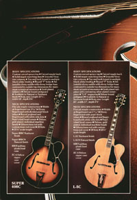1975 Gibson Electric Acoustics catalogue page 6