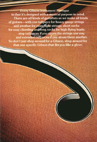 1975 Gibson Electric Acoustics catalogue page 7