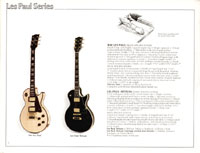 1978 Gibson electric guitars and amplifiers catalogue page 2