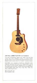 1970 Gibson Les Paul catalogue page 7
