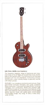 1970 Gibson Les Paul catalogue page 8