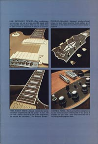 1975 Gibson Les Paul catalogue page 3
