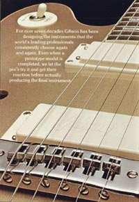 1975 Gibson Les Paul catalogue page 4