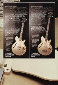 1975 Gibson Les Paul catalogue page 5