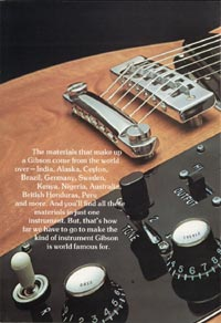 1975 Gibson Les Paul catalogue page 6