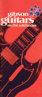 1970 Gibson electric solid bodies catalog